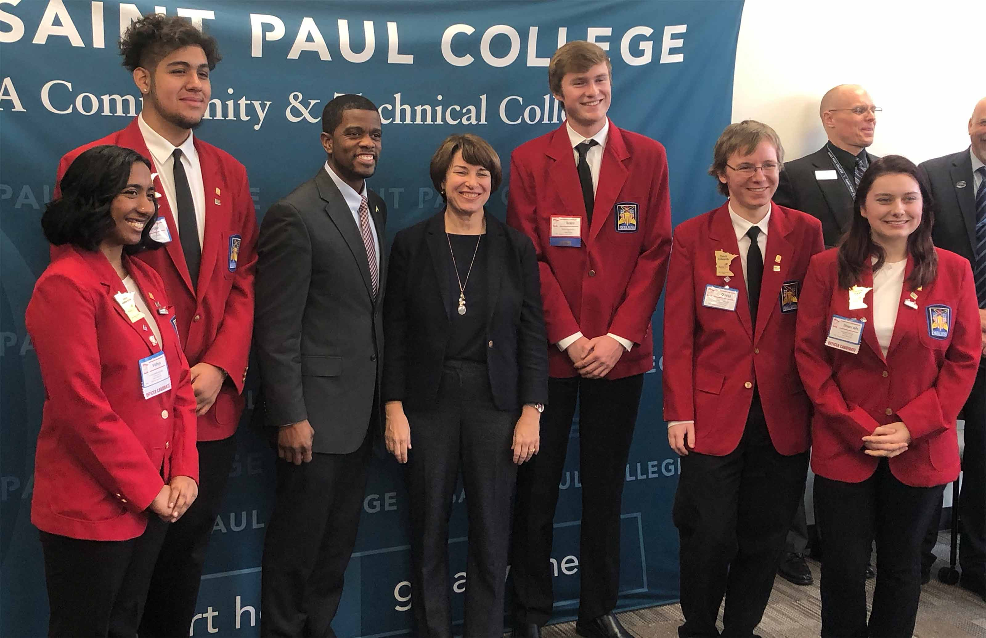 SkillsUSA Minnesota with Amy Klobuchar
