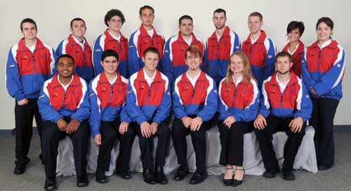 2009 USA World SkillsUSA Team
